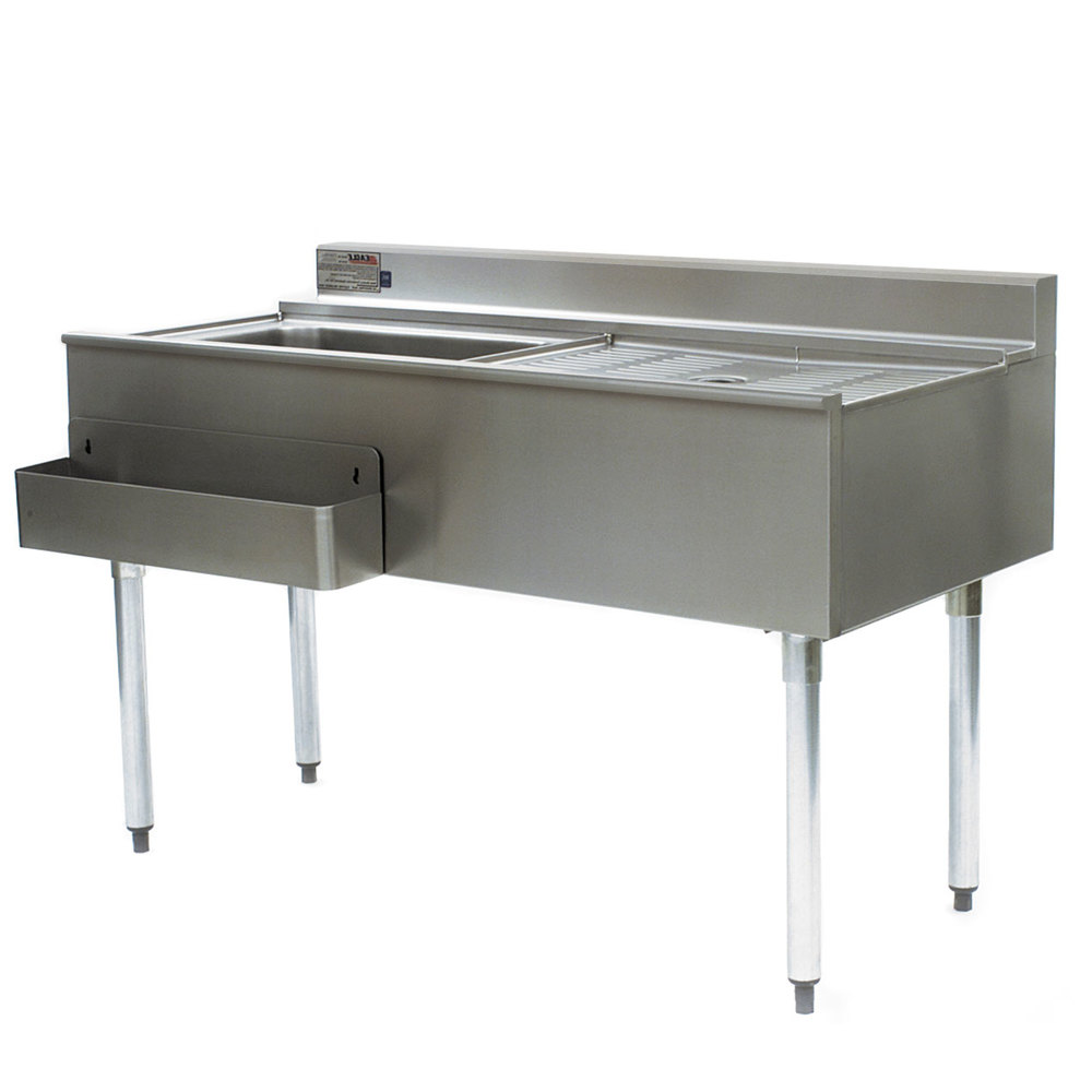 Eagle Group CWS5-22L Cocktail Workstation with Left Side Ice Bin - 60""