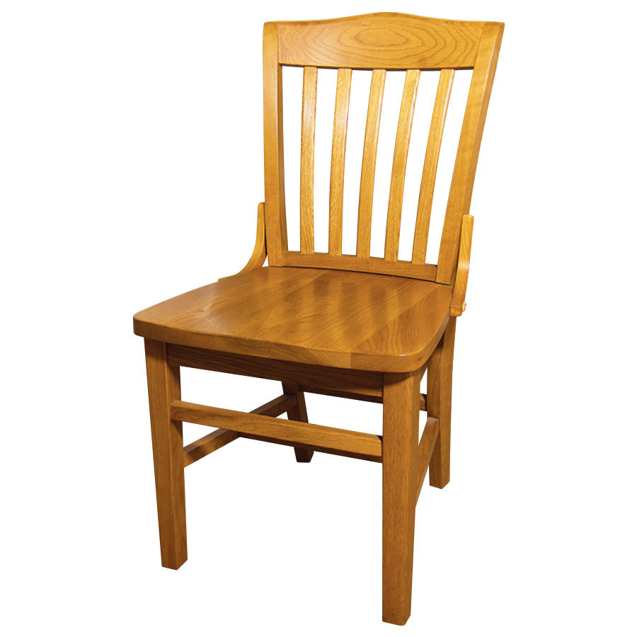 Wooden School House Chair
