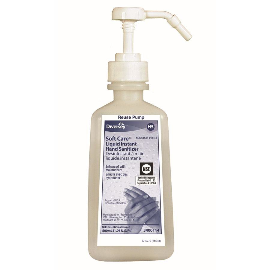 JOHNSON DIVERSEY Diversey Soft Care 500 mL Liquid Instant Hand Sanitizer 12 / Case at Sears.com