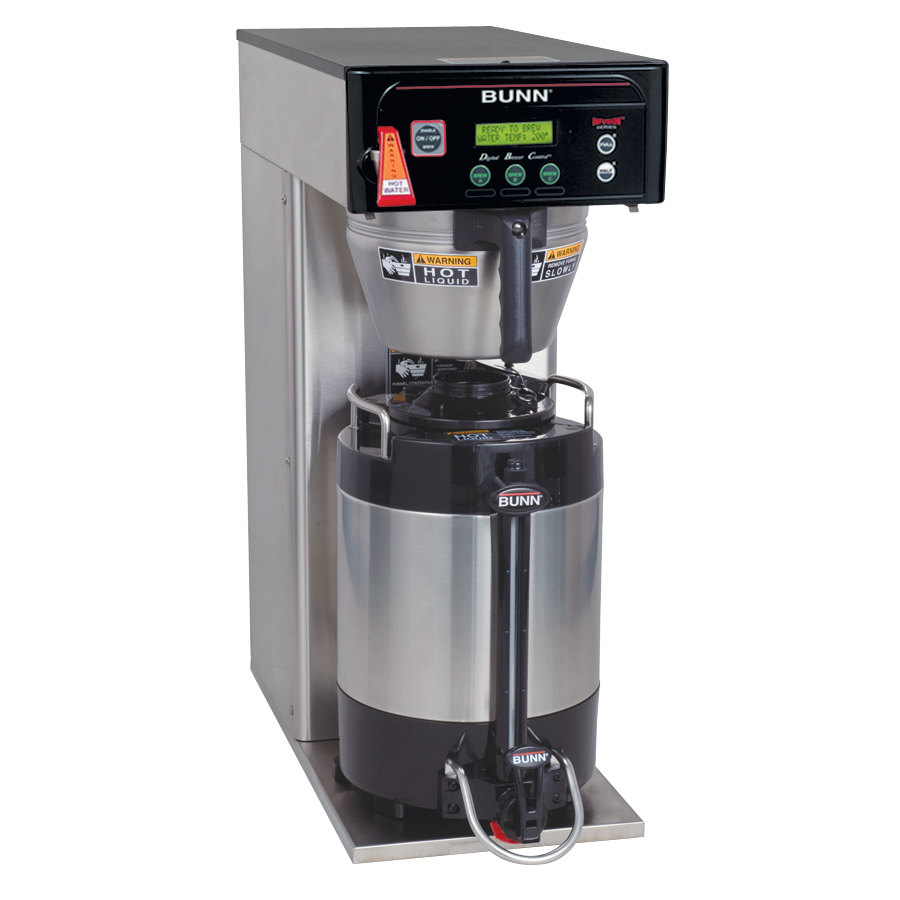 Bunn ICB-DV Infusion Coffee Brewer - Stainless Steel Dual Voltage (Bunn 36600.0000)