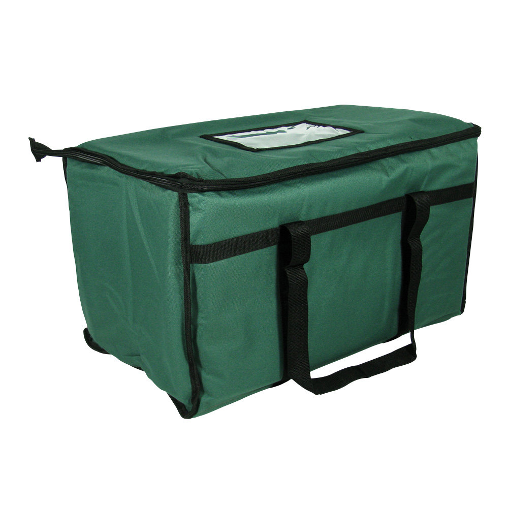 Choice Green Insulated Food Delivery Bag / Pan Carrier