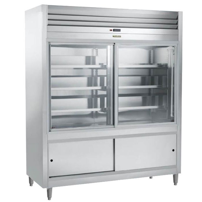 Traulsen RS332N-1 46 Cu. Ft. Sliding Glass Door Refrigerated Deli Merchandiser - Specification Line at Sears.com