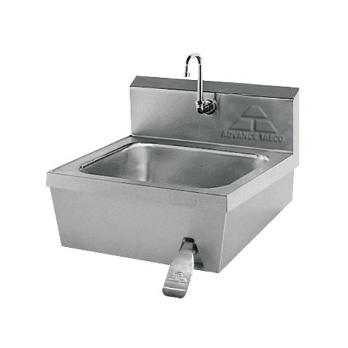 Advance Tabco 7-PS-30 Hands Free Hand Sink with Knee Valve - 17 1/4""
