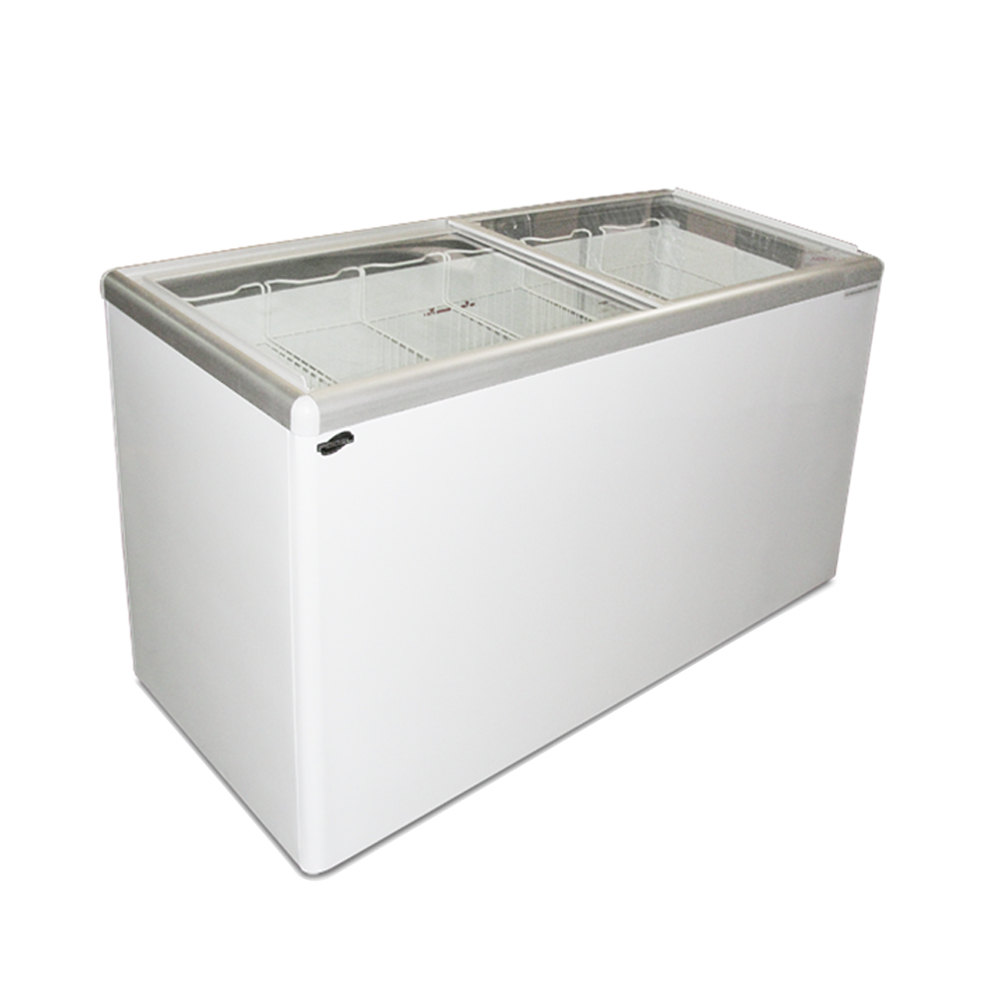 Excellence EURO-16 Ice Cream Flat Top Flat Lid Display Freezer - 15.5 Cu.ft