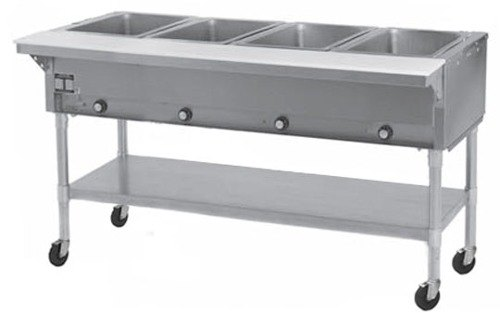 Eagle Group 240 Volts Eagle Group PDHT4 Portable Electric Hot Food Table 4 Well - Open Well at Sears.com
