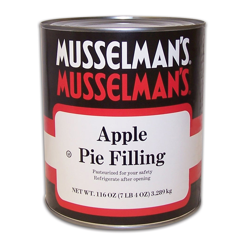 Musselman's Apple Pie Filling - #10 Can