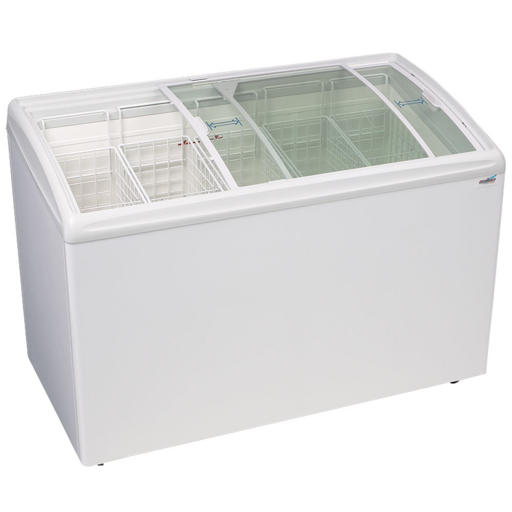 Excellence RIO-S-125 Curved Lid Display Freezer - 9.1 cu. ft.