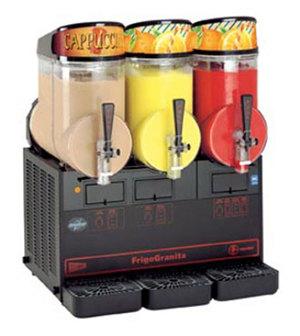 Grindmaster Cecilware Cecilware FrigoGranita MT3ULBL Triple 2.5 Gallon Slush Machine - 120V at Sears.com