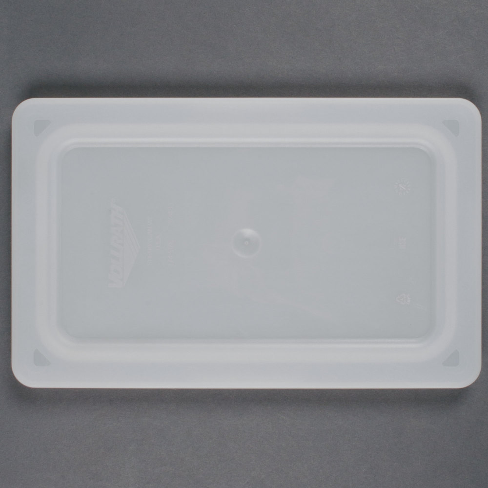 Vollrath 52431 Super Pan V 1/2 Size Flexible Steam Table / Hotel Pan Lid