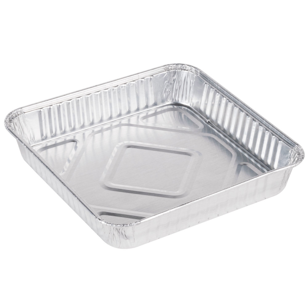 Foil Cake Pans 9 Inch Round Tin Foil Pans Disposable