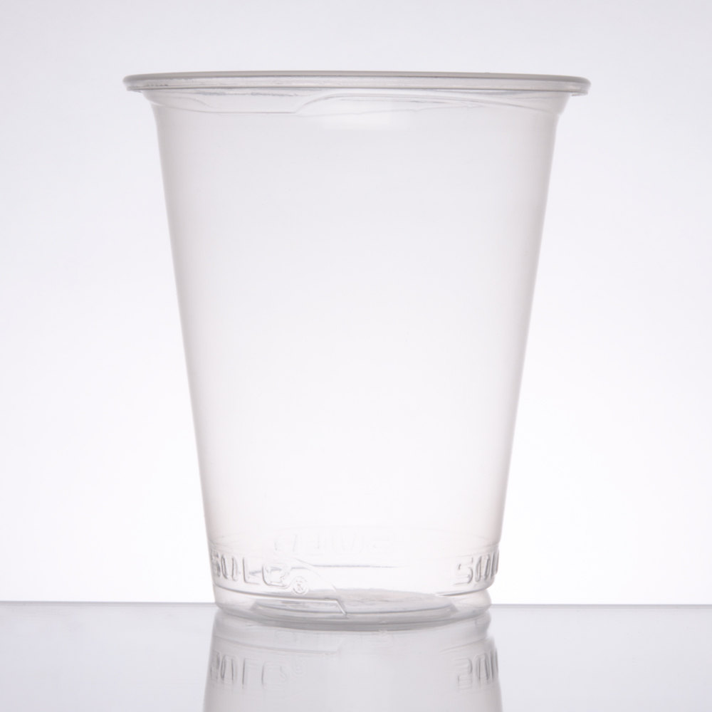 Solo SCCPX16 Straight Wall 16 oz. Clear Polypro Plastic Cup 1000/Case