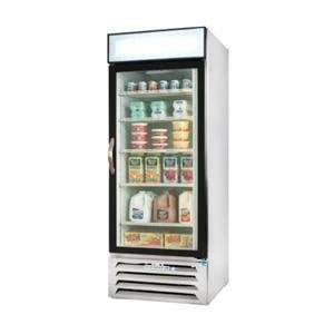 Beverage Air MMR27-1-W-LED White Marketmax Refrigerated Glass Door Merchandiser with LED Lighting - 27 Cu. Ft. at Sears.com