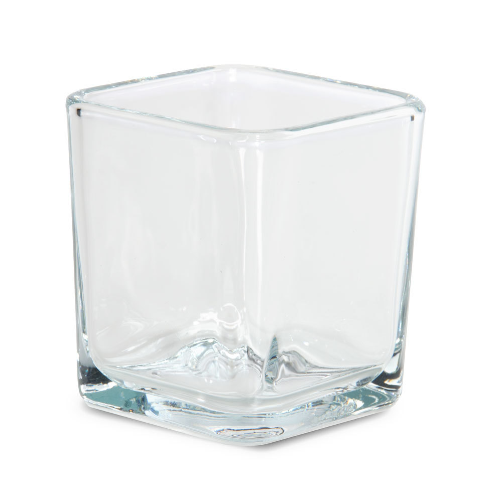 libbey 5474 cube votive candle holder 7 5 oz 12 case