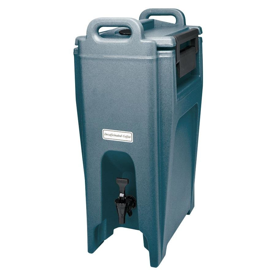 Cambro UC500401 Slate Blue Ultra Camtainer 5.25 Gallon Insulated Beverage Dispenser