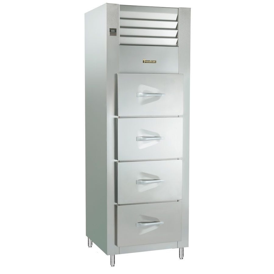 Traulsen RFS126N-1 19.3 Cu. Ft. Single Section Drawered Fish / Poultry File - Specification Line