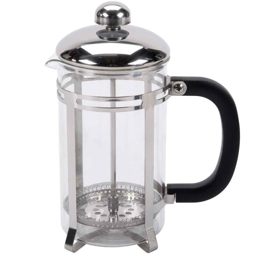 20 oz glass stainless steel french coffee press. Black Bedroom Furniture Sets. Home Design Ideas