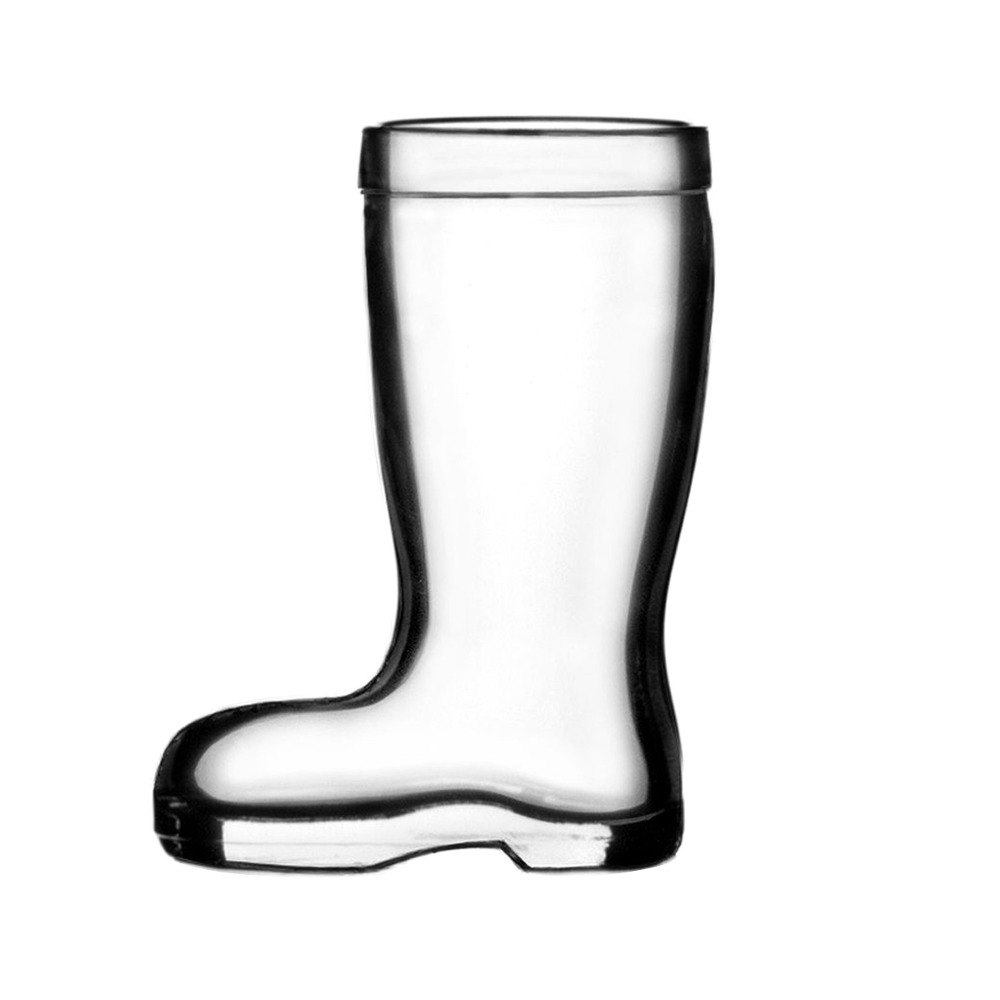 Anchor Hocking Stolzle 09735/188047 Biersiefel 1.5 oz. Beer Boot Shot/Whiskey Glass - 12 / Case