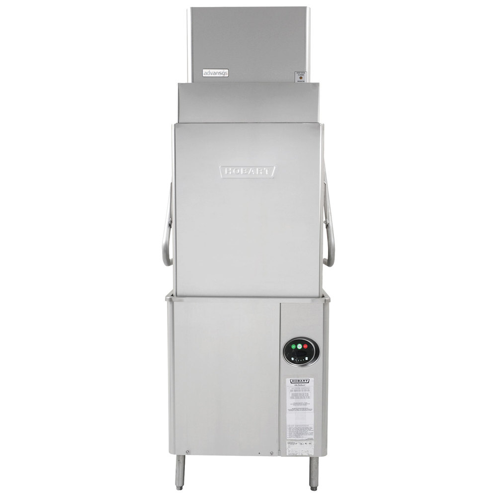 Hobart AM15VLT-2 Advansys Ventless Tall High Temperature Dishwasher with Booster Heater - 208/240V