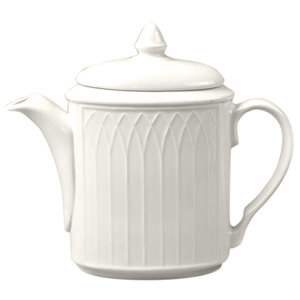 Homer Laughlin 7000-0326 Undecorated Gothic 23 oz. Beverage Server - Off White 12 / Case