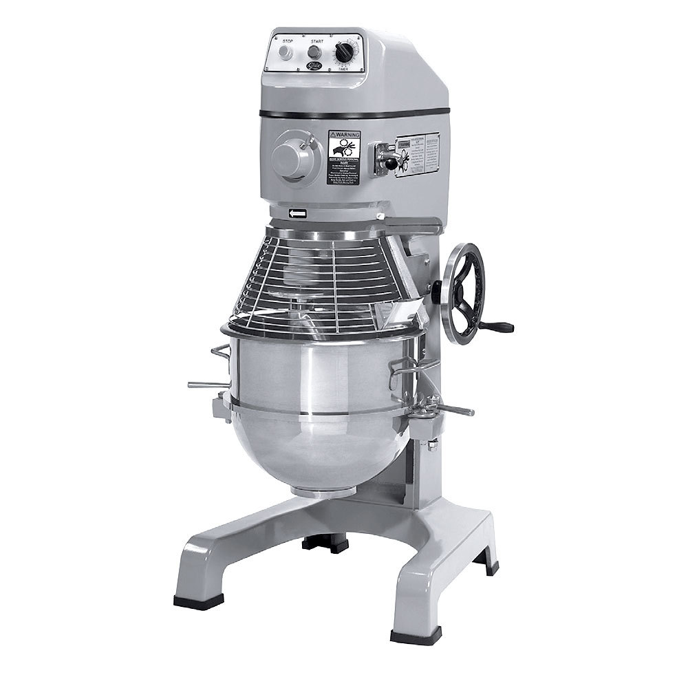 Globe 220 Volts Globe SP40 Gear Driven 40 Qt. Commercial Stand Mixer - 2 hp Motor at Sears.com