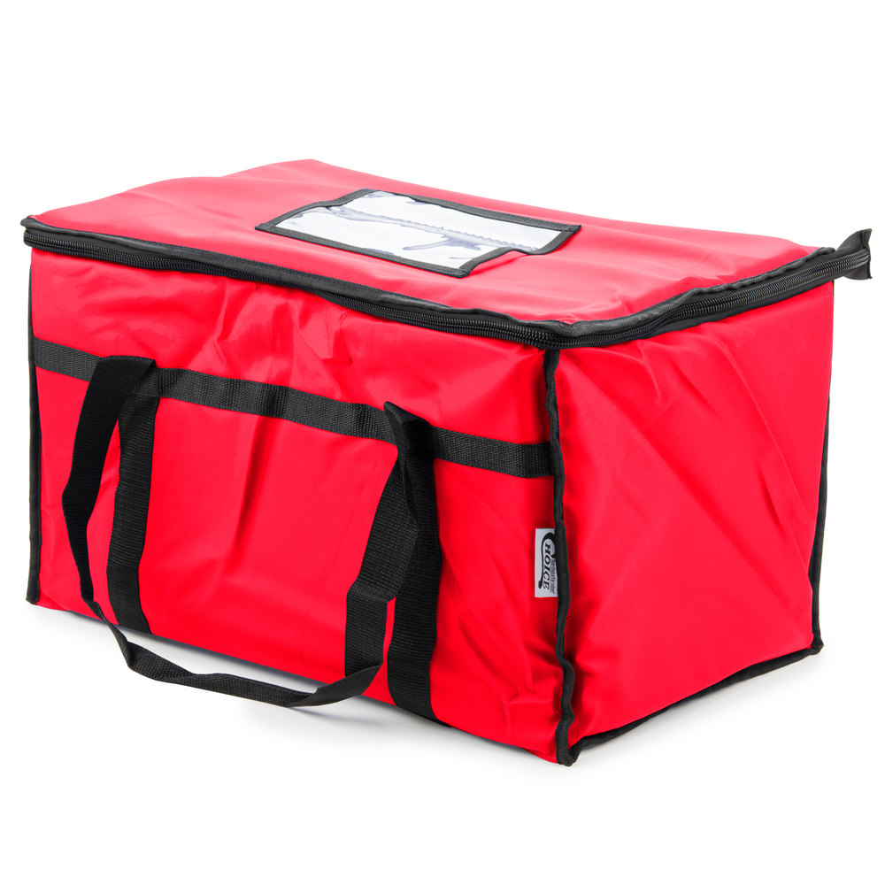 Insulated Food Delivery Bag Pan Carrier