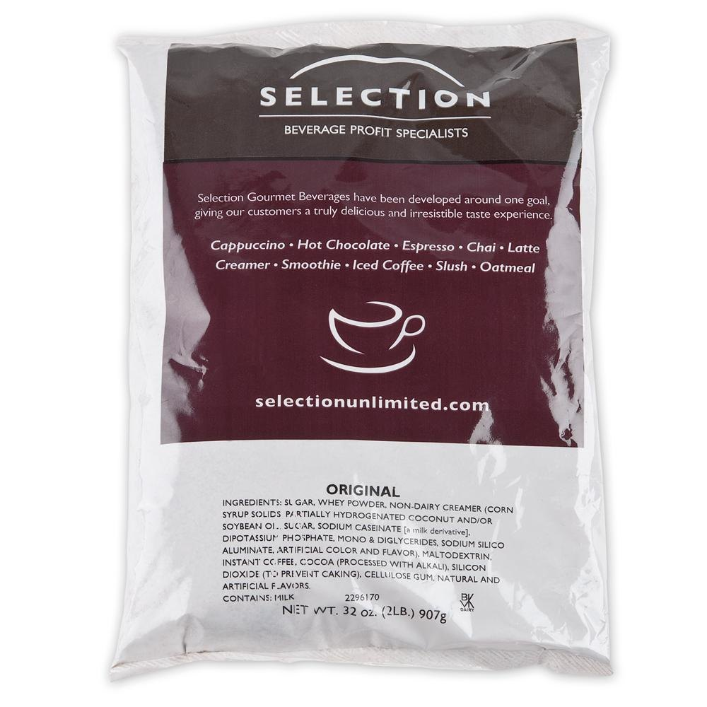 Original Cappuccino Mix 6 - 2 lb. Bags / Case