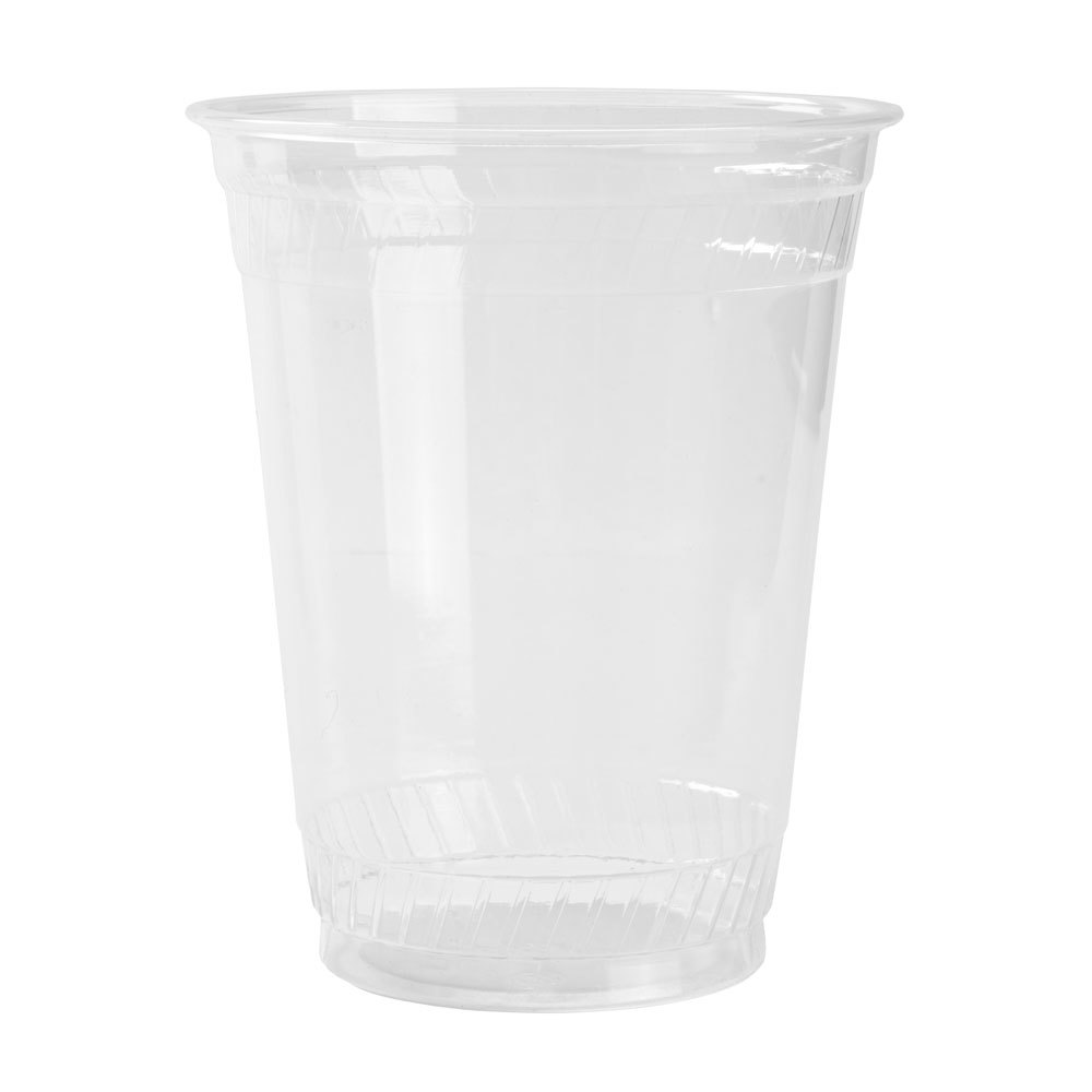 Fabri-Kal Greenware GC16S 16 oz. Customizable Clear Plastic Compostable Cold Cup 1000 / Case