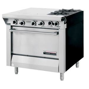 "Garland / US Range Natural Gas Garland M43-1S Master Series 4 Burner 34"" Gas Range with Even Heat Hot Top and Storage Base at Sears.com"