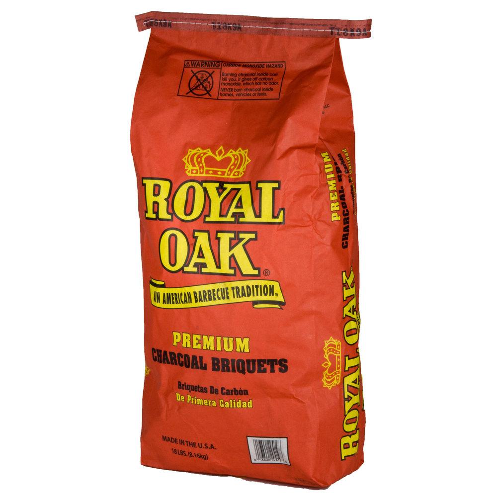 Royal Oak Premium Ridge Charcoal Briquettes 15.4 lb. Bag