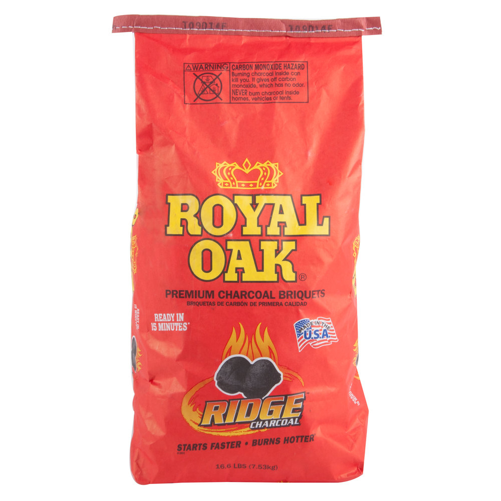 Charcoal briquettes royal oak premium