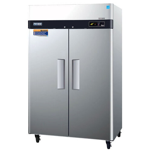 "Turbo Air Refrigeration Turbo Air PRO-50F 52"" Premiere Series Two Section Solid Door Reach in Freezer - 50 Cu. Ft. at Sears.com"