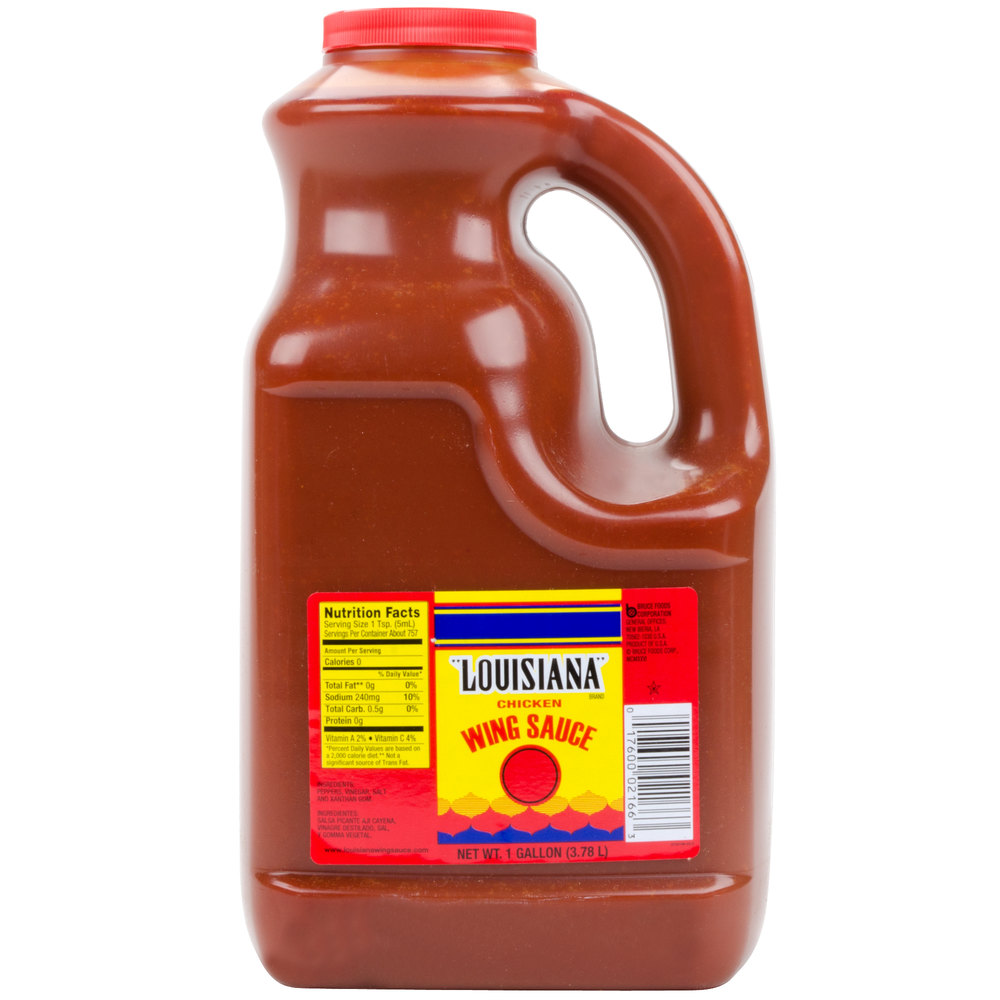 Louisiana Wildly Wicked Original Buffalo Wing Sauce - 1 Gallon
