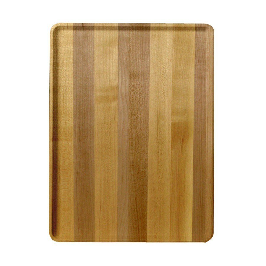 "Cambro 1219D303 12"" x 19"" Light Butcher Block Wood-Look Dietary Tray - 12/Case"