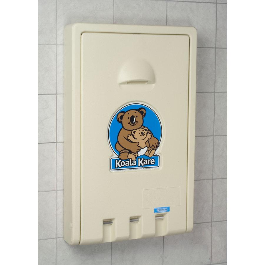 Koala Kare Kb101 00 Vertical Baby Changing Station Cream