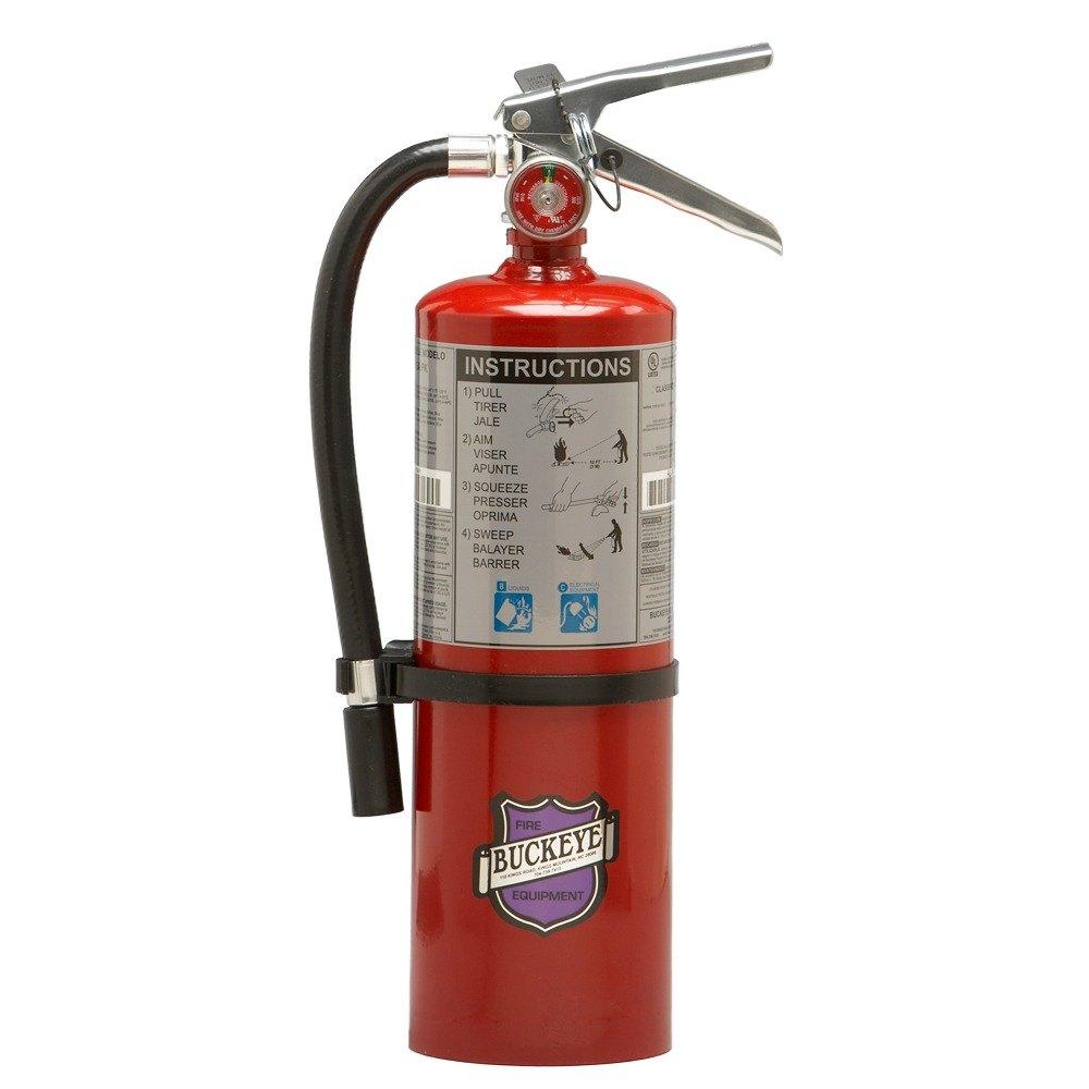K Fire Extinguisher : Buckeye lb purple k dry chemical bc fire extinguisher