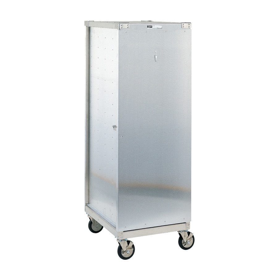Metro CD3N Bun Pan Rack / Delivery / Storage Cabinet Enclosed with Lockable Door- Uninsulated