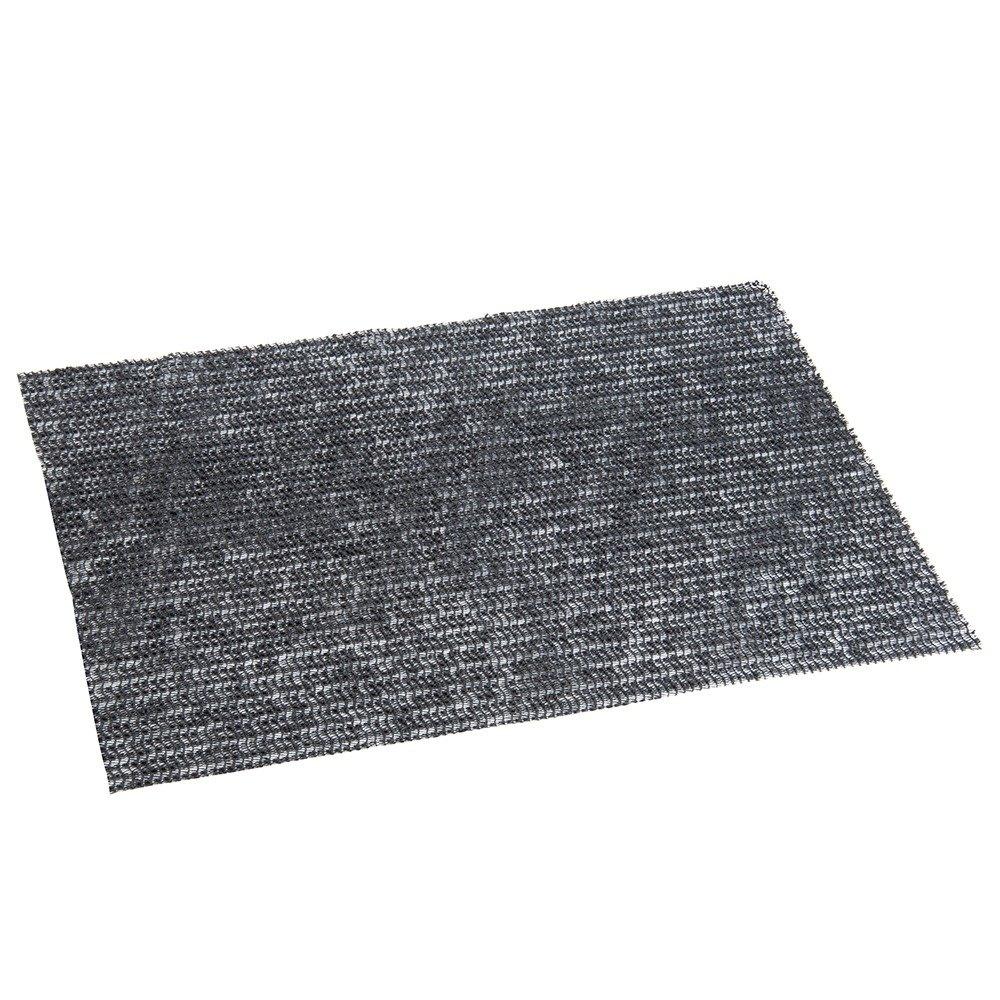 """Board Buddy Jr. 8"""" X 12"""" Black Non-Slip Cutting Board Mat"""