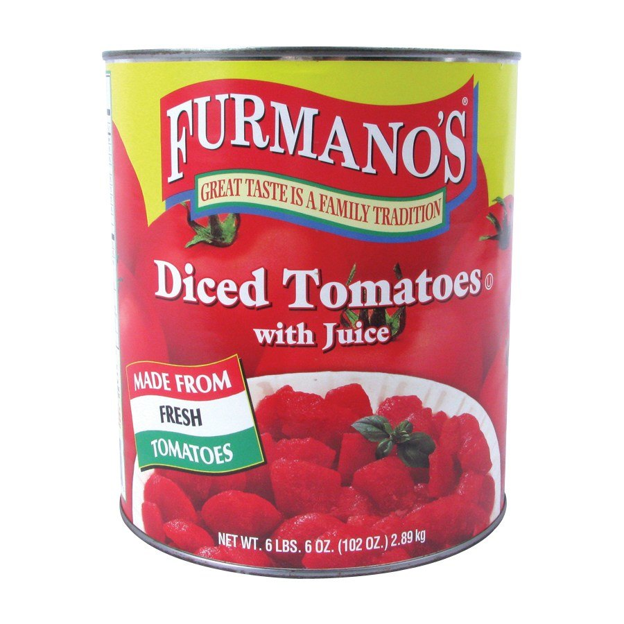 Furmano's Diced Tomatoes with Juice - #10 Can