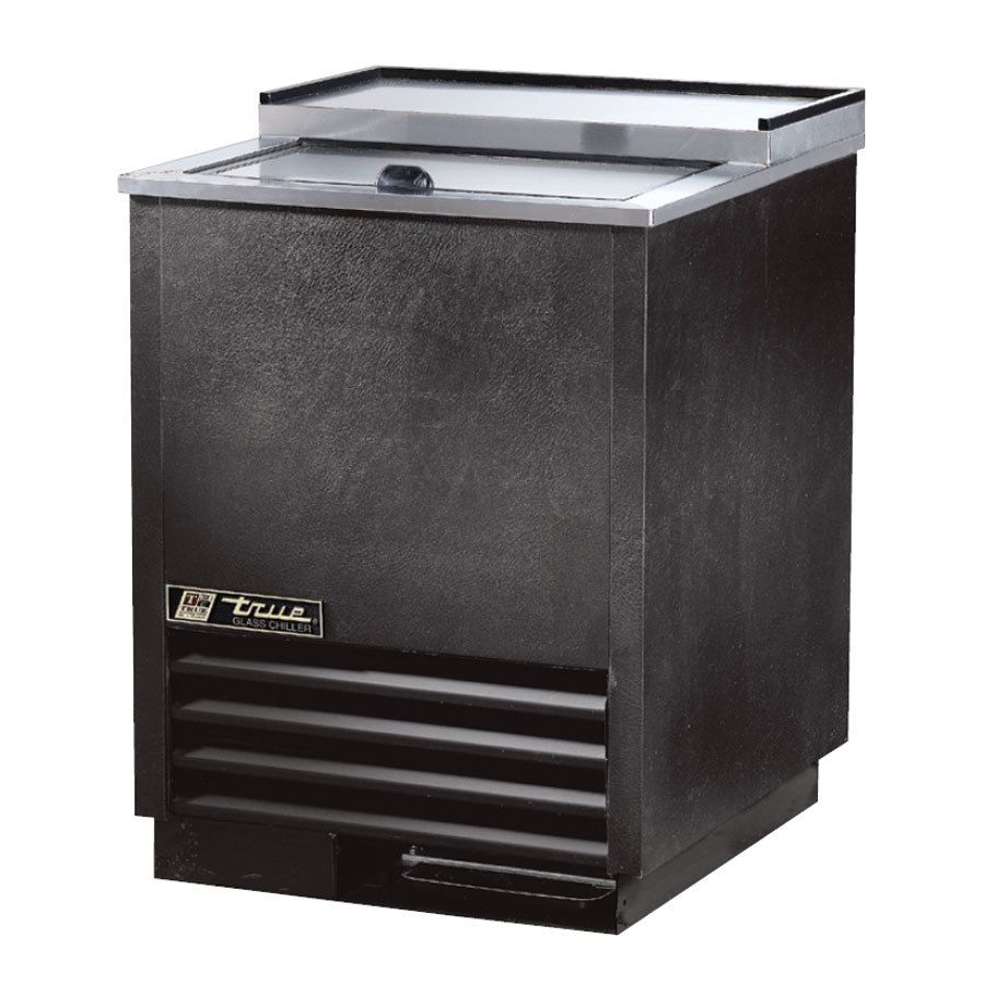 True T-24-GC-S 24 inch Stainless Steel Glass and Plate Chiller