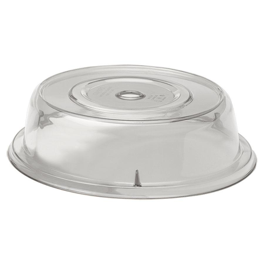 "Cambro Camwear 901CW152 Clear Camcover 9 5/16"" Plate Cover 12/Case"