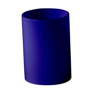 Sterno Products 85282 Table Lamp Deep Blue Cylinder Globe. Main Picture ...