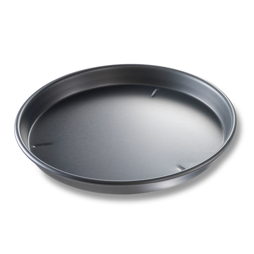 "Chicago Metallic 91145 14"" x 1 1/2"" BAKALON Pre-Seasoned Aluminum Deep Dish Pizza Pan at Sears.com"