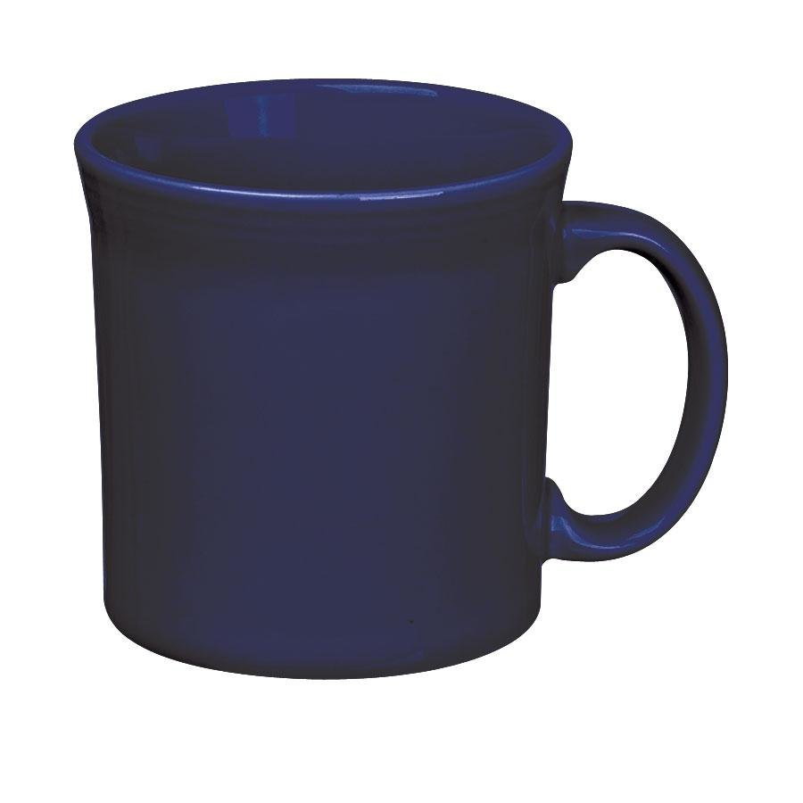 Homer Laughlin 570105 Fiesta Cobalt Blue 12 oz. Java Mug - 12 / Case