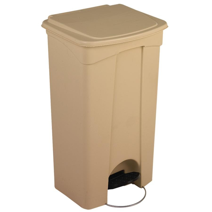 Continental 23BE 23 Gallon Beige Step On Trash Can