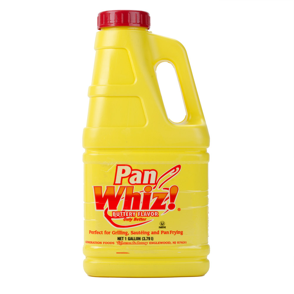 Pan Whiz 1 Gallon Butter Alternative - 3/Case
