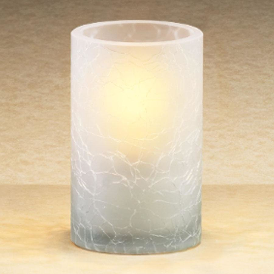 Sterno Products 80278 Frost Crackle One Piece Glass Lamp