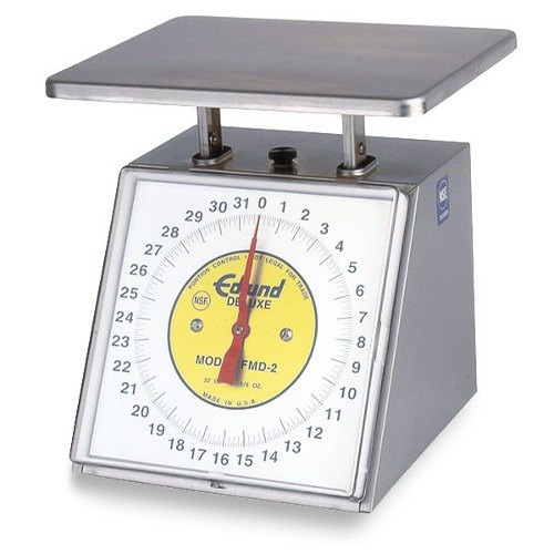 Edlund FMD-2 Deluxe Four Star 32 oz. Portion Control Scale with 7 inch x 8 3/4 inch