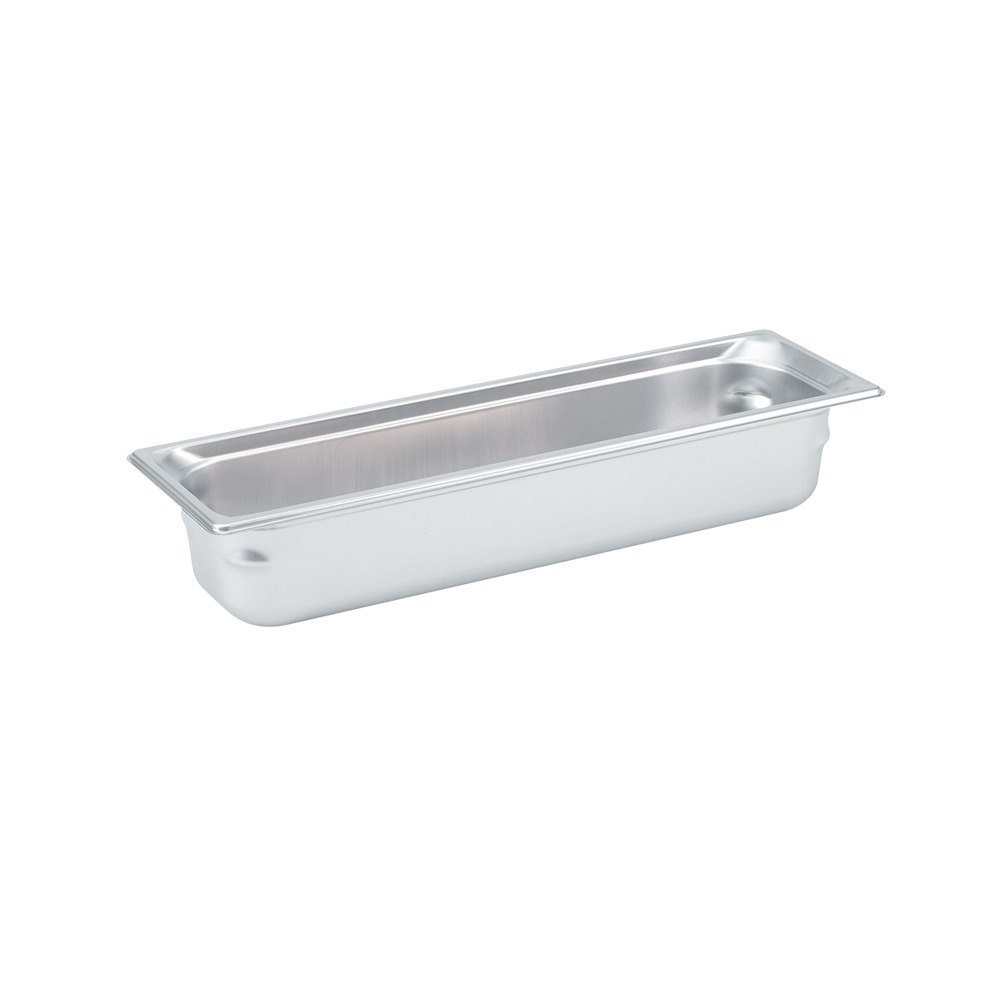 Vollrath 90562 Super Pan 3 Stainless Steel 1/2 Size Long Anti-Jam Steam Table Pan - 6 inch Deep