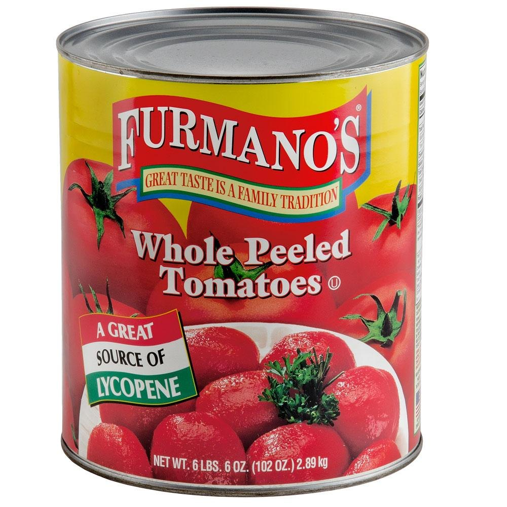 Whole Peeled Tomatoes 6 - #10 Cans / Case
