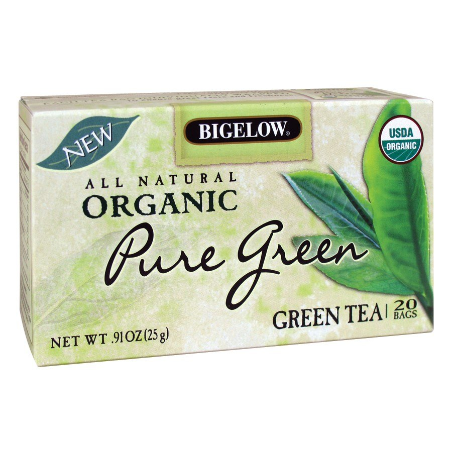 Bigelow Tea Organic Pure Green 20 Box Jpg